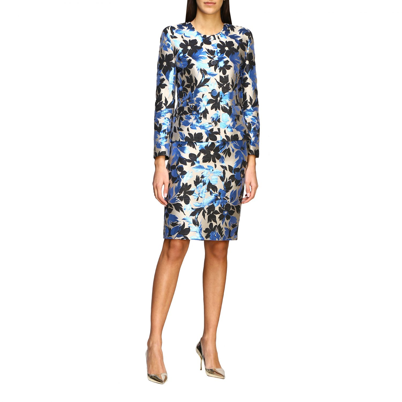 Suit Boutique Moschino: Blazer women Boutique Moschino blue 2