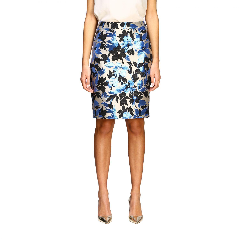 Suit Boutique Moschino: Skirt women Boutique Moschino blue 1