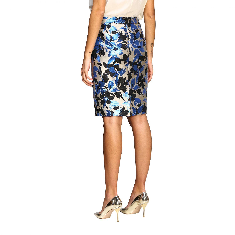 Suit Boutique Moschino: Skirt women Boutique Moschino blue 3