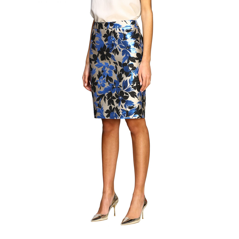 Suit Boutique Moschino: Skirt women Boutique Moschino blue 4
