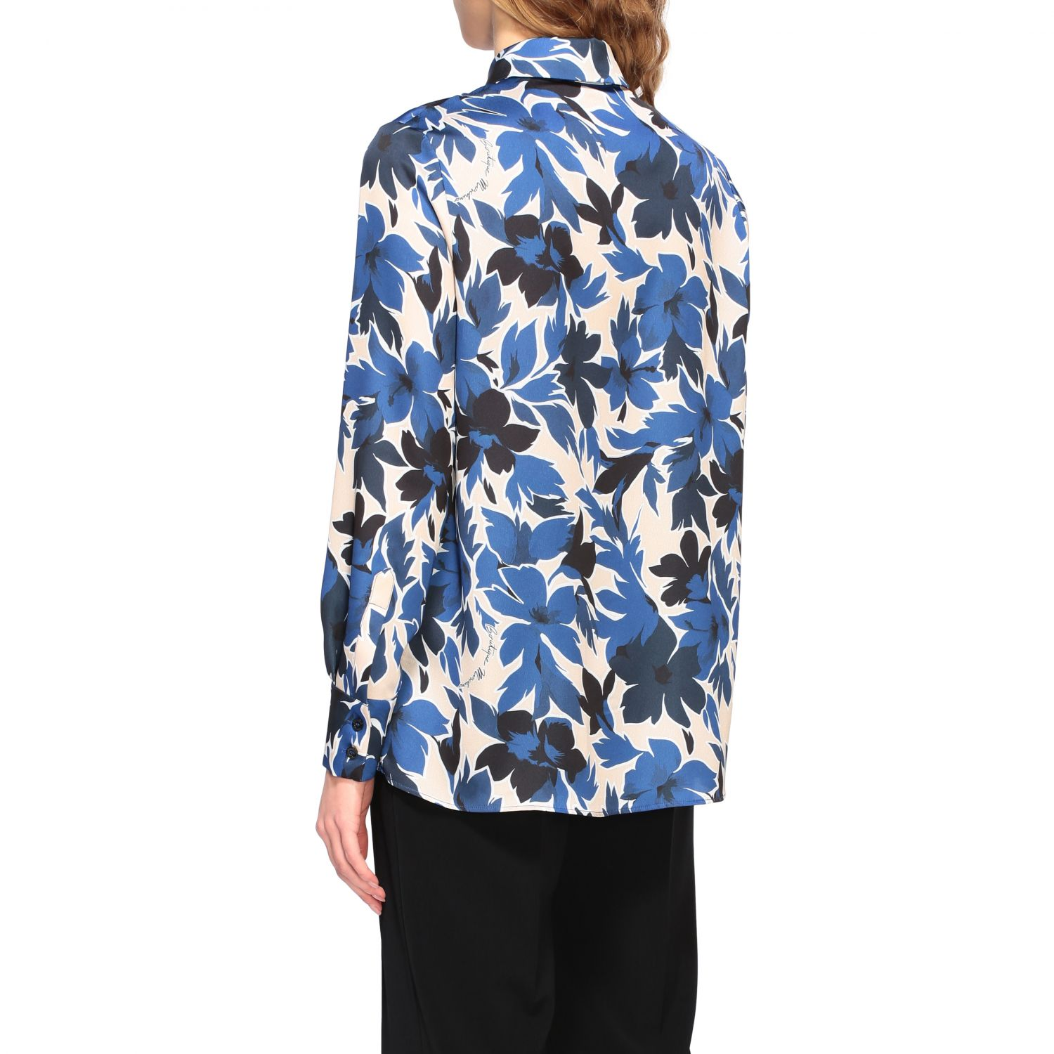 Shirt Boutique Moschino: Shirt women Boutique Moschino blue 3