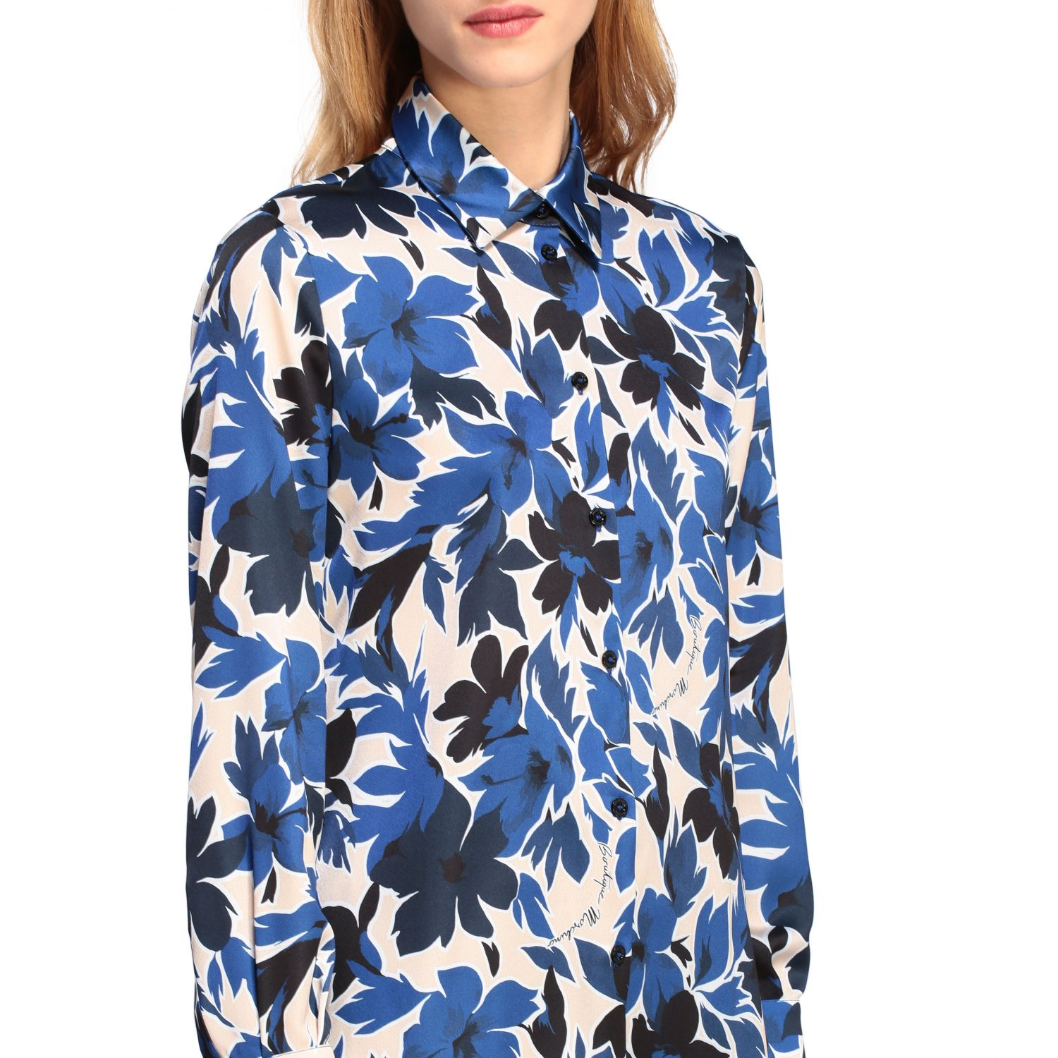 Shirt Boutique Moschino: Shirt women Boutique Moschino blue 5