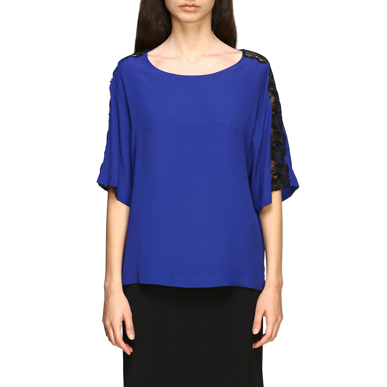 Top Boutique Moschino: Top women Boutique Moschino blue 1