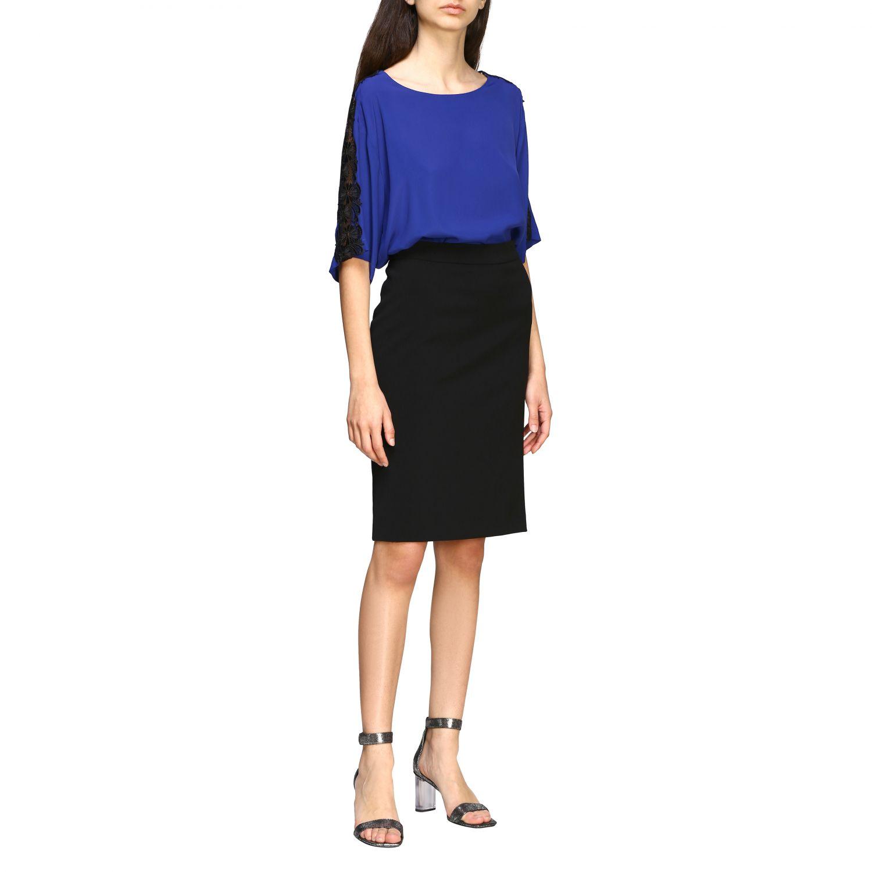 Top Boutique Moschino: Top women Boutique Moschino blue 2