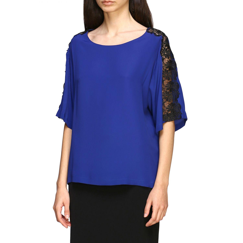 Top Boutique Moschino: Top women Boutique Moschino blue 4