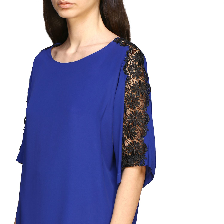 Top Boutique Moschino: Top women Boutique Moschino blue 5