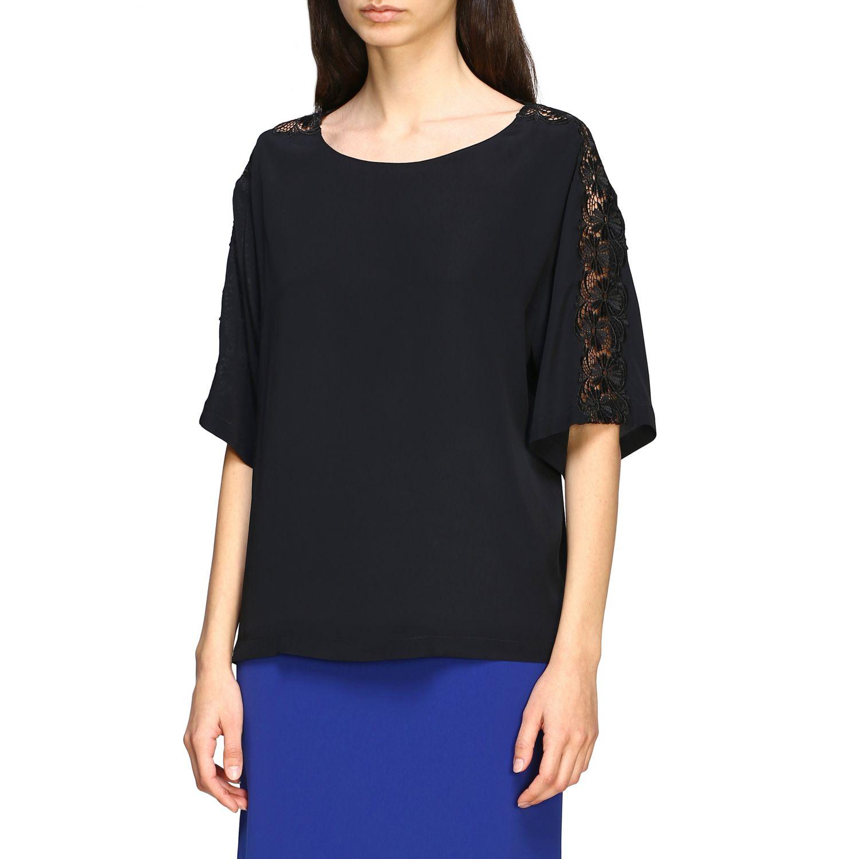Jumper Boutique Moschino: Top women Boutique Moschino black 3