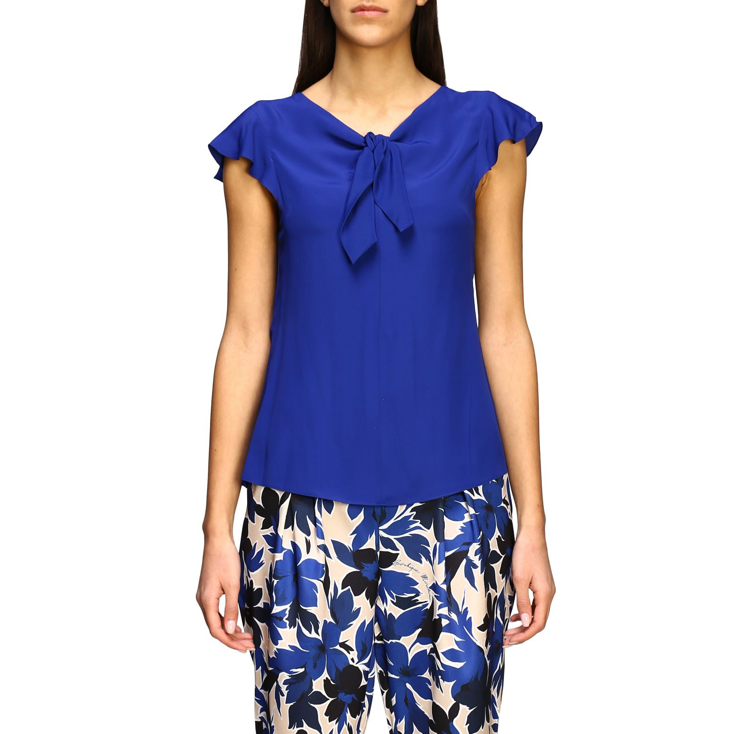 Top Boutique Moschino: Top women Boutique Moschino blue 1