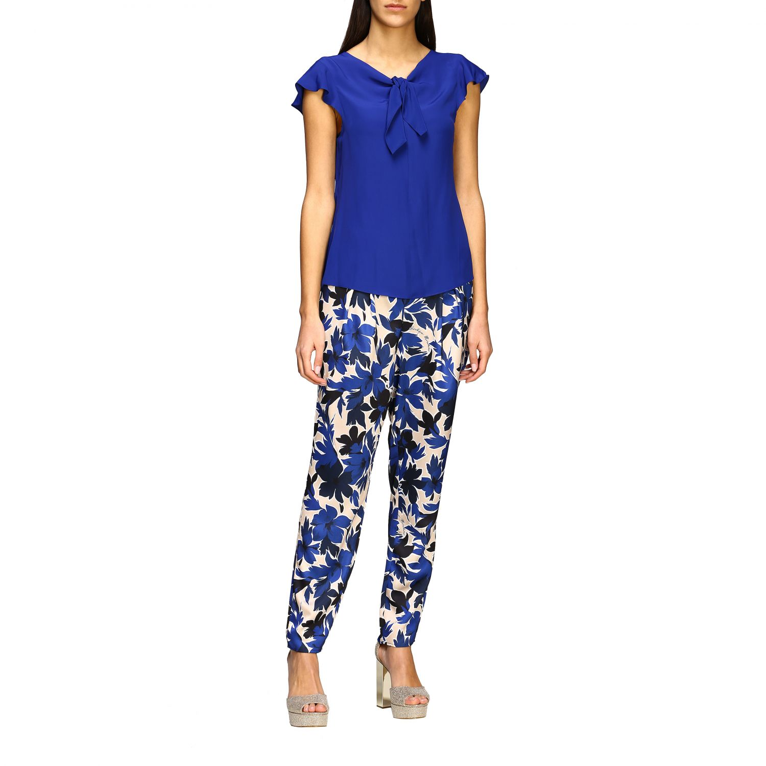 Top Boutique Moschino: Top women Boutique Moschino blue 2