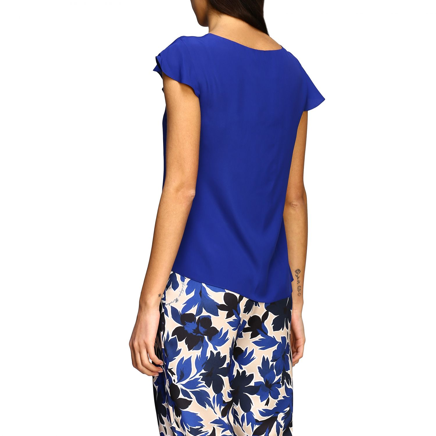 Top Boutique Moschino: Top women Boutique Moschino blue 3