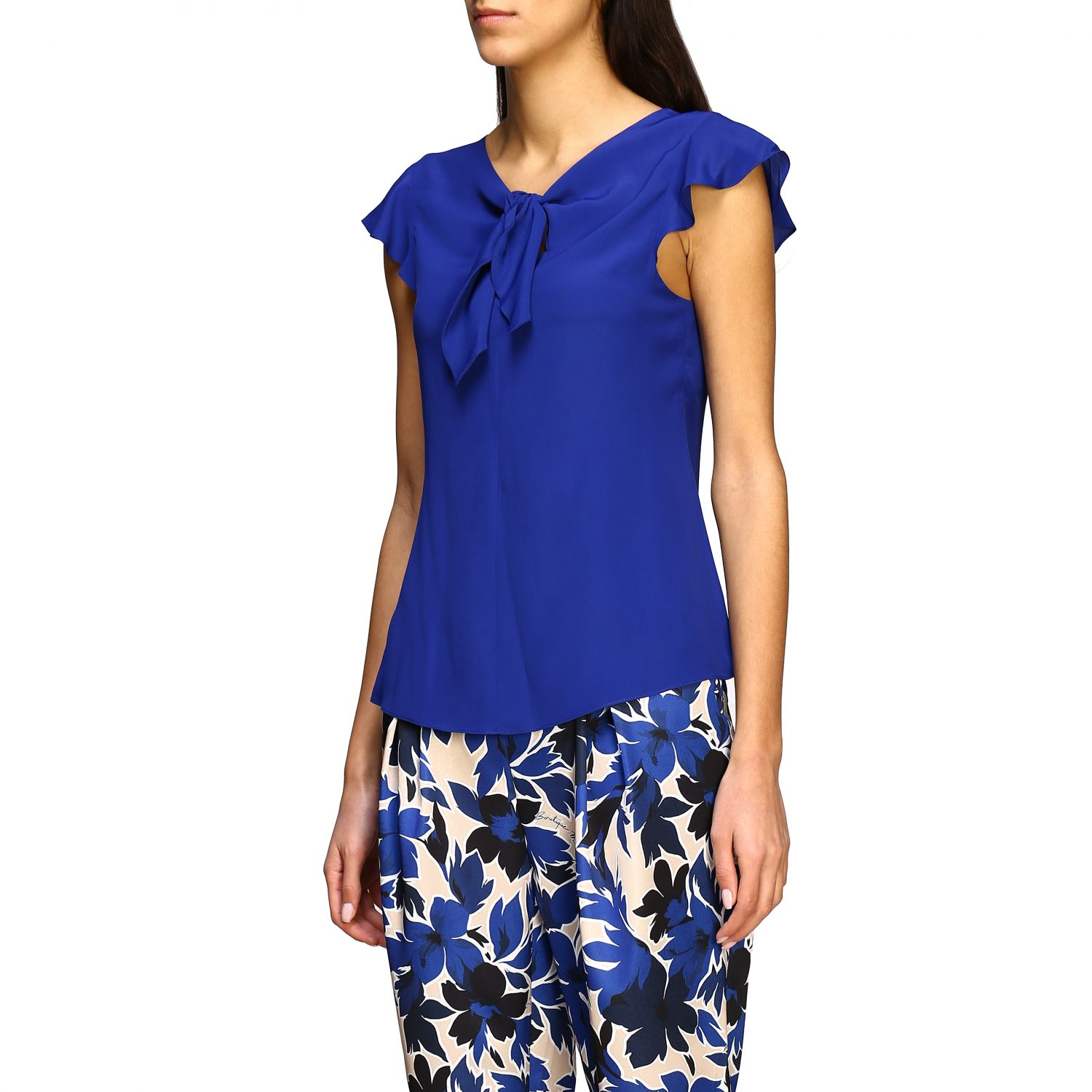 Top Boutique Moschino: Top women Boutique Moschino blue 4
