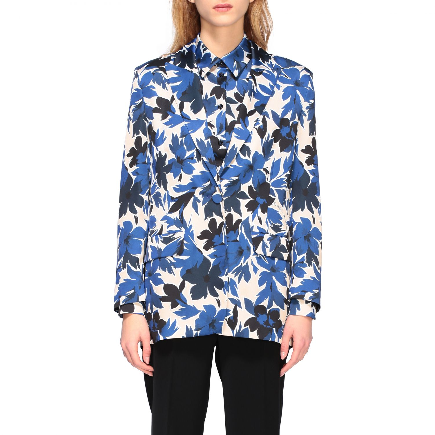 Blazer Boutique Moschino: Blazer women Boutique Moschino blue 1