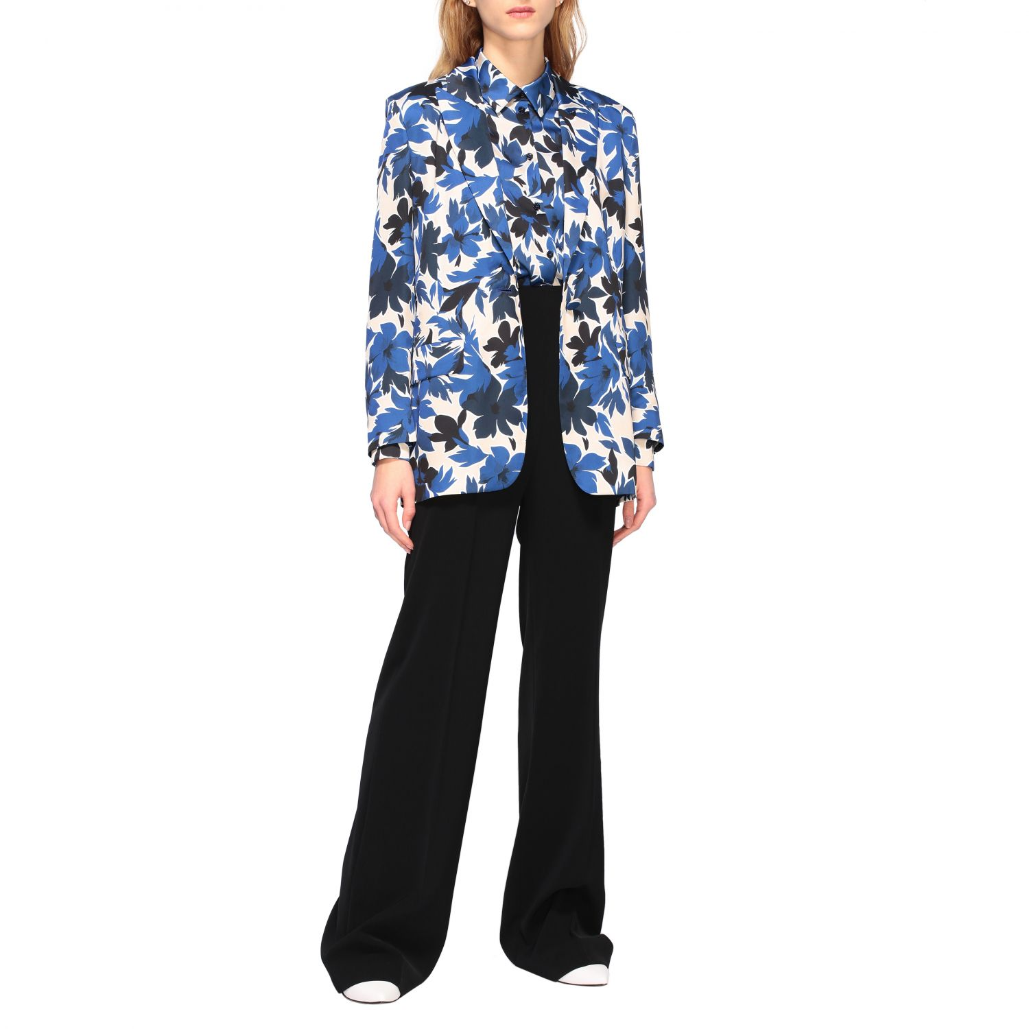 Blazer Boutique Moschino: Blazer women Boutique Moschino blue 2