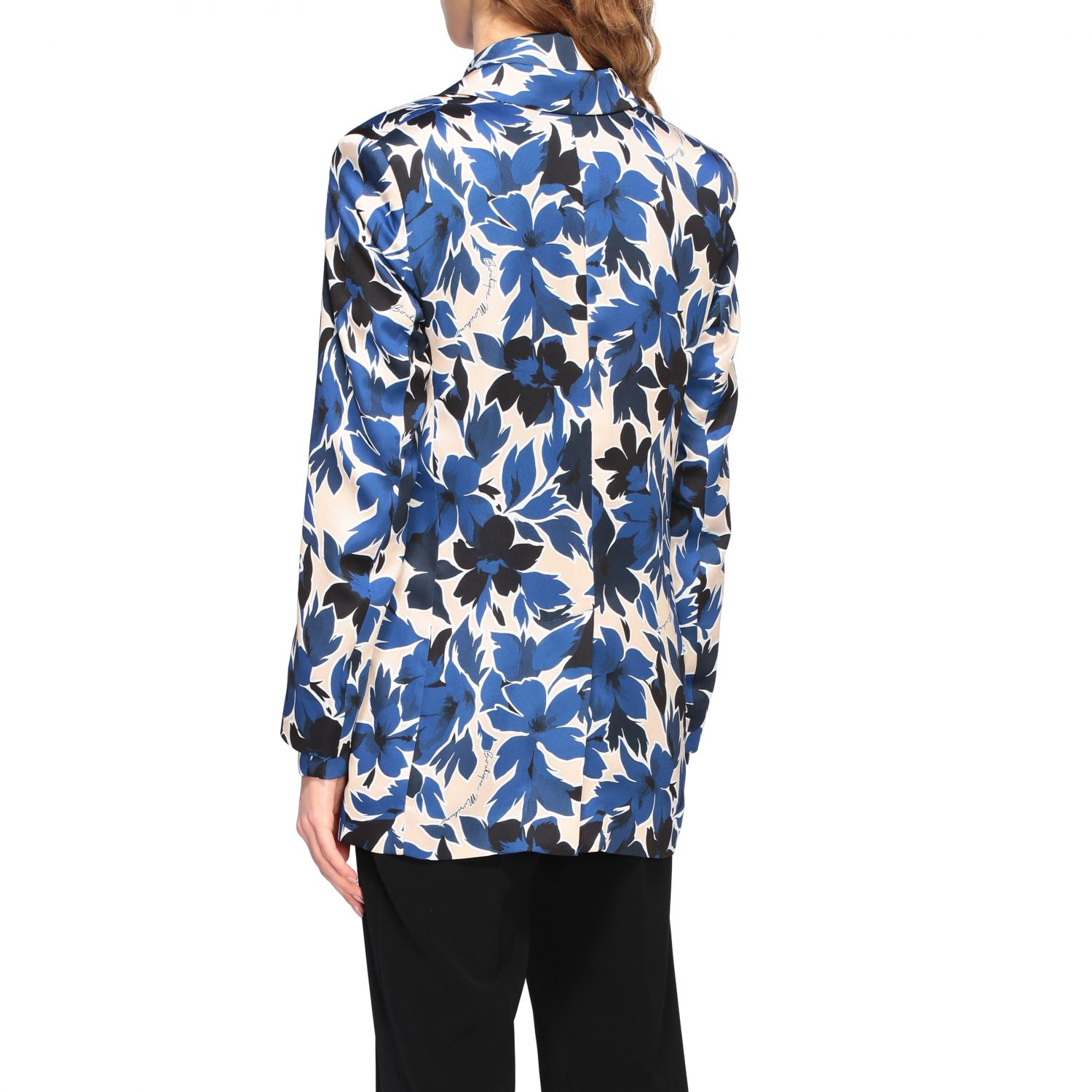 Blazer Boutique Moschino: Blazer women Boutique Moschino blue 3
