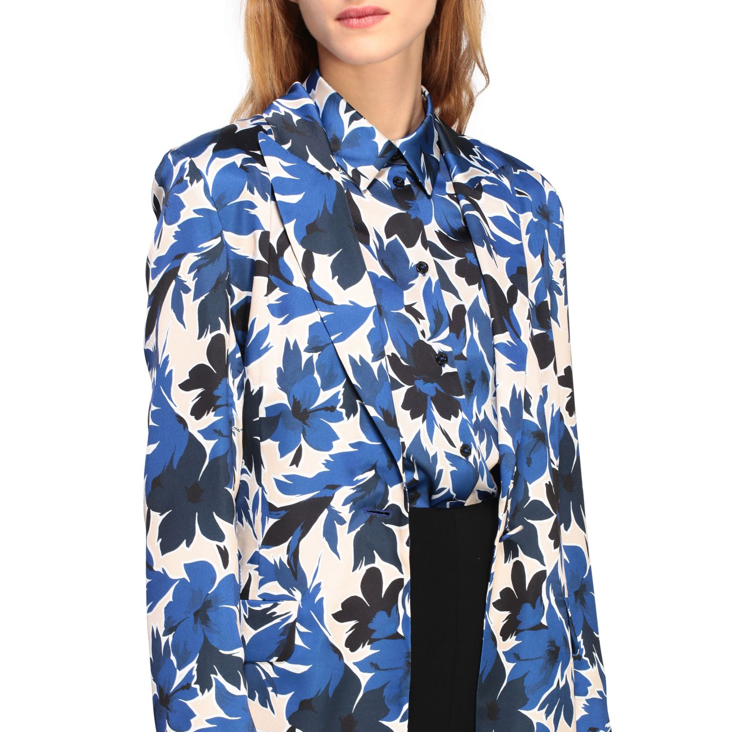 Blazer Boutique Moschino: Blazer women Boutique Moschino blue 5