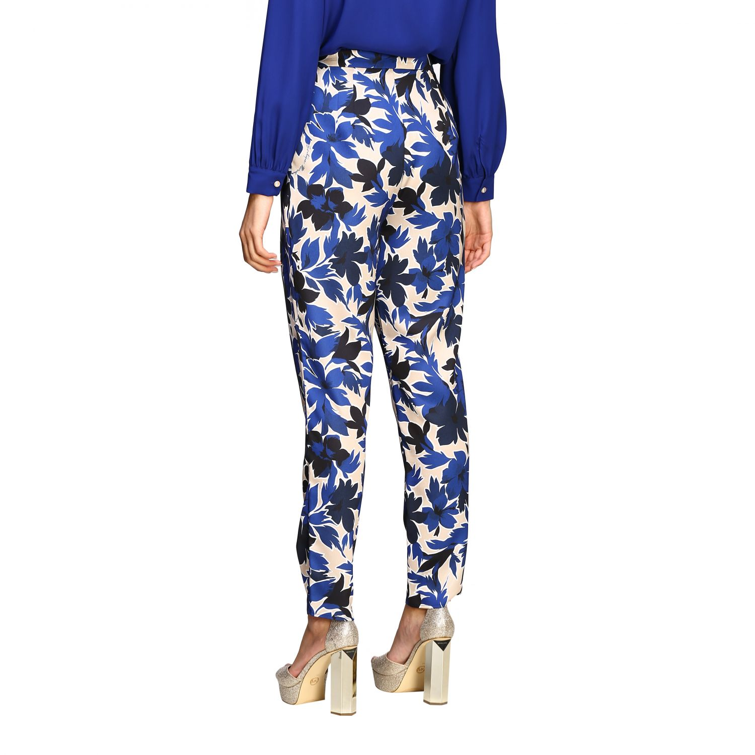 Trousers Boutique Moschino: Trousers women Boutique Moschino blue 3
