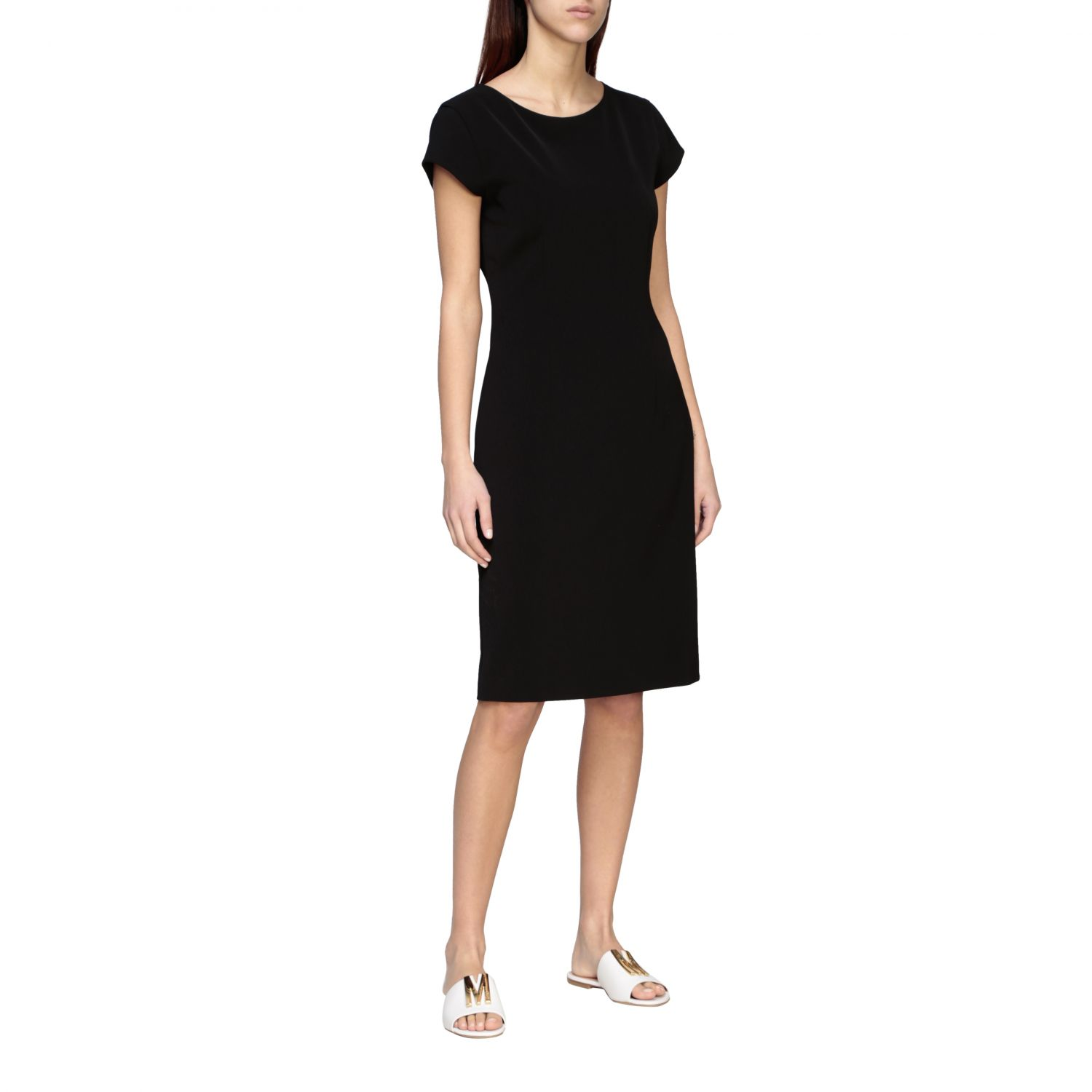 Dress Boutique Moschino: Dress women Boutique Moschino black 1