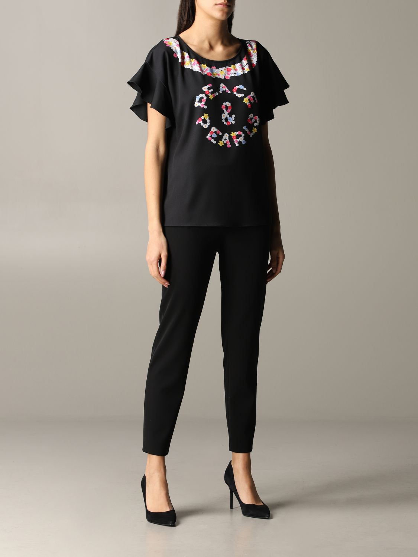 Top women Boutique Moschino black 2