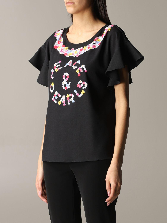 Top women Boutique Moschino black 4
