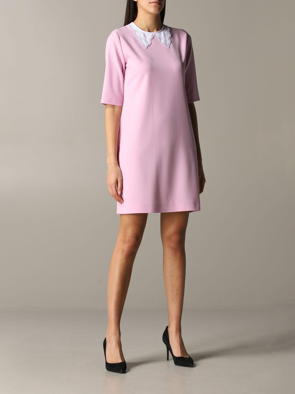 Dress Boutique Moschino: Dress women Boutique Moschino pink 1