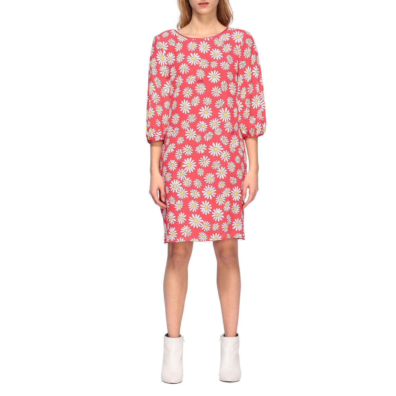 Dress Boutique Moschino: Dress women Boutique Moschino coral 1