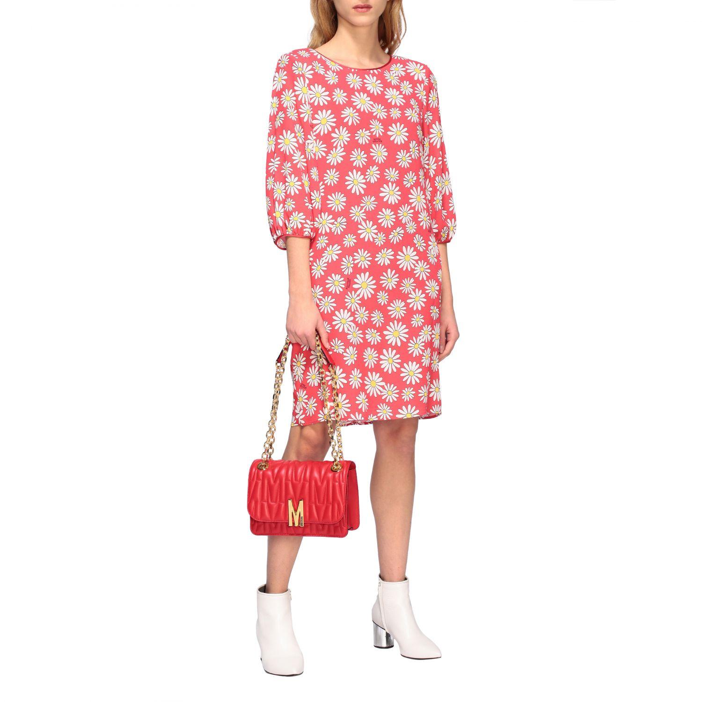 Dress Boutique Moschino: Dress women Boutique Moschino coral 2