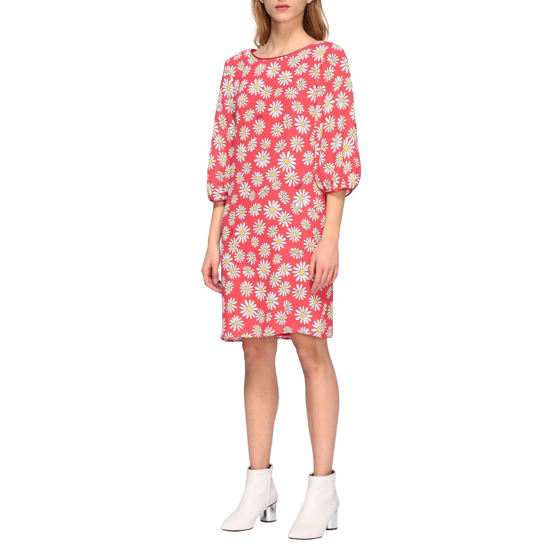 Dress Boutique Moschino: Dress women Boutique Moschino coral 4