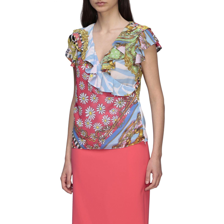 Top Boutique Moschino: Top women Boutique Moschino multicolor 4