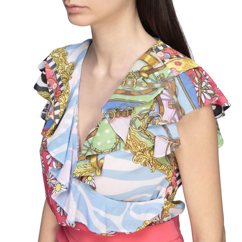 Top Boutique Moschino: Top women Boutique Moschino multicolor 5