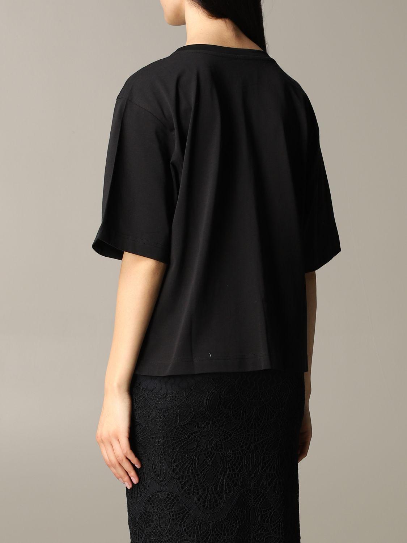 T-shirt Boutique Moschino a maniche corte con stampa nero 3