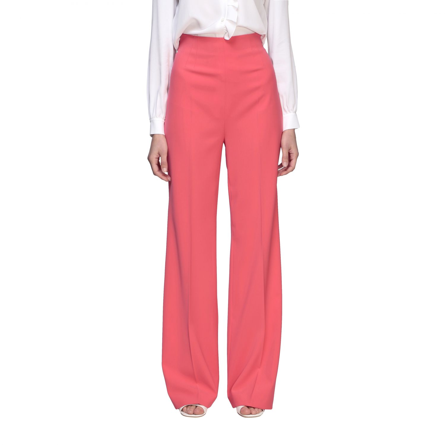 Trousers Boutique Moschino: Trousers women Boutique Moschino coral 1