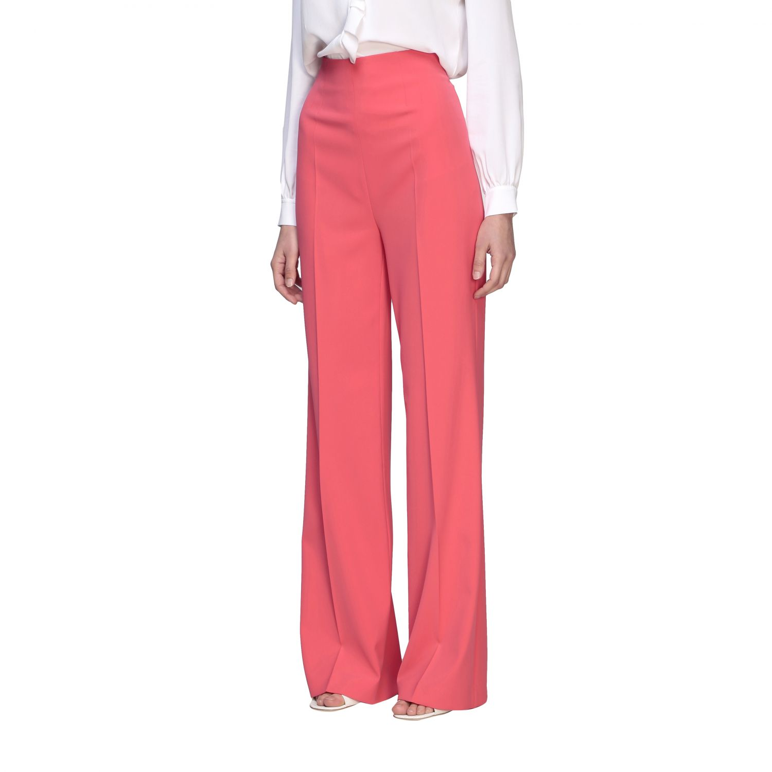 Trousers Boutique Moschino: Trousers women Boutique Moschino coral 4