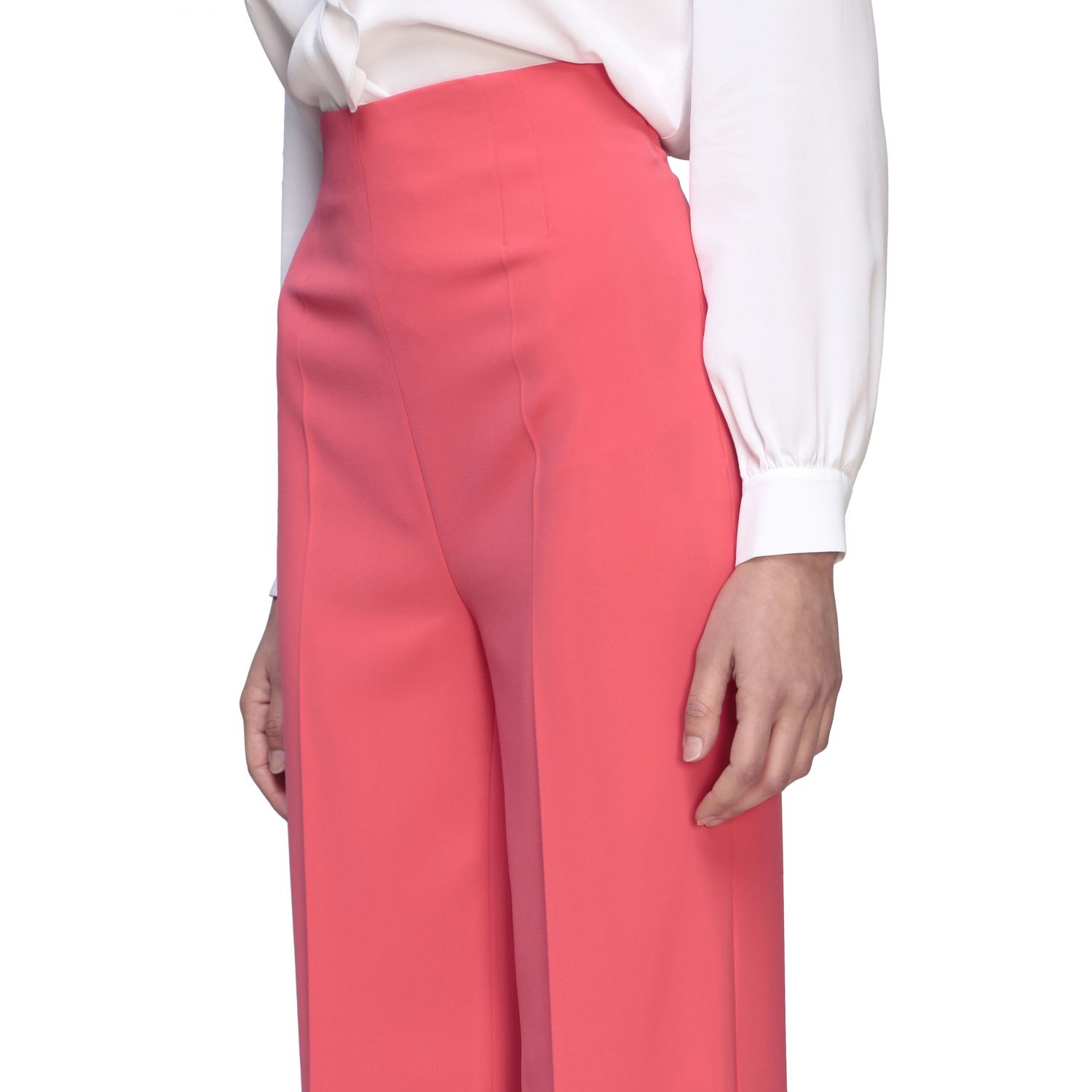 Trousers Boutique Moschino: Trousers women Boutique Moschino coral 5