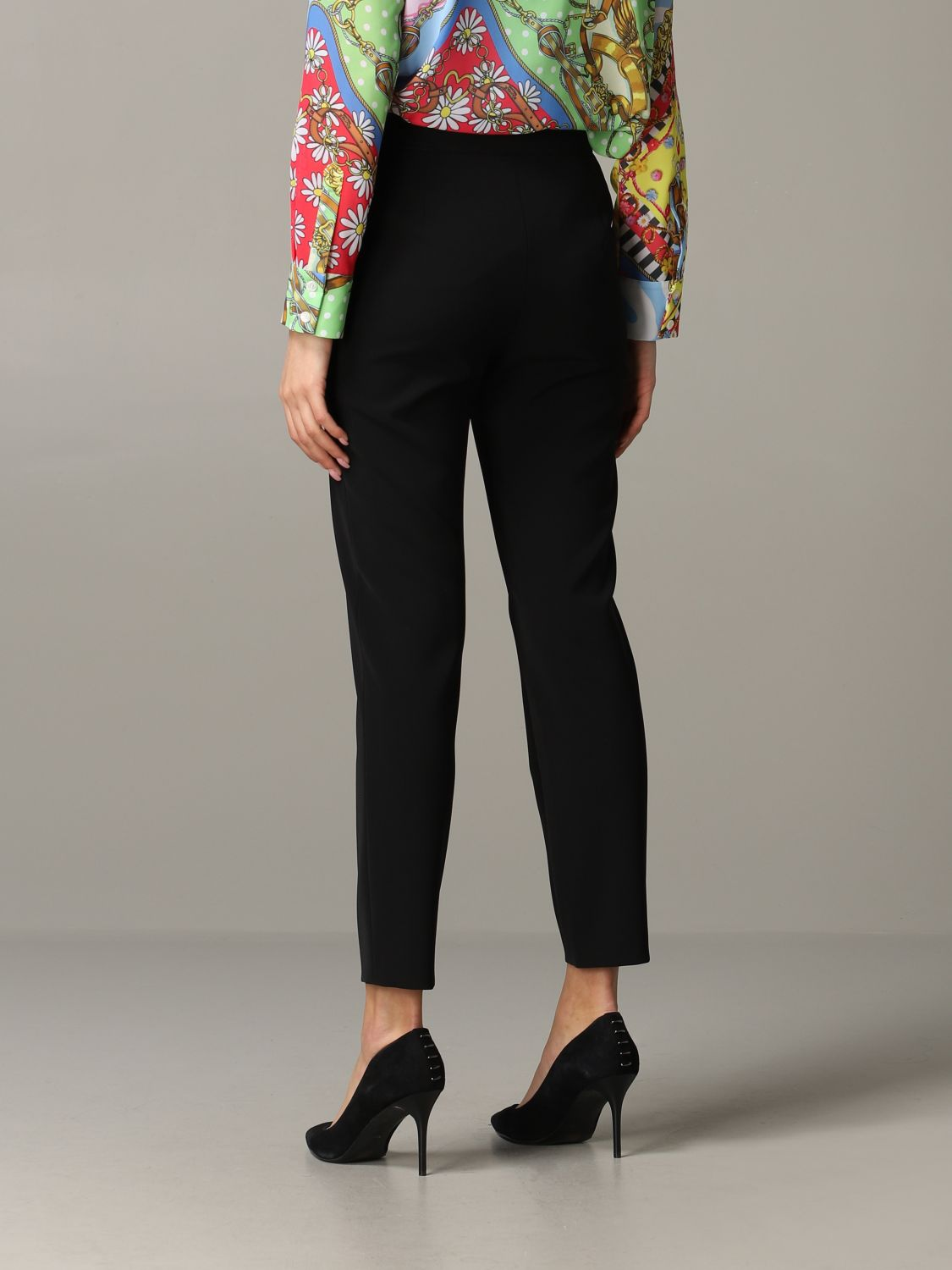 Trousers Boutique Moschino: Trousers women Boutique Moschino black 3