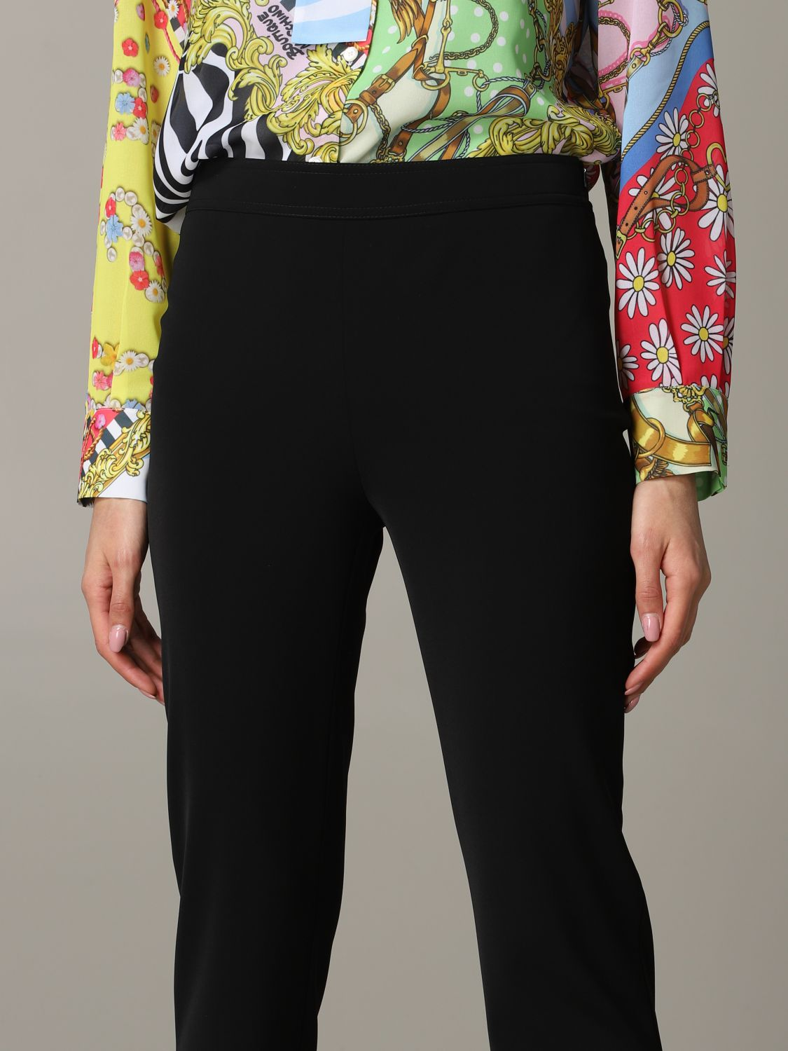 Trousers Boutique Moschino: Trousers women Boutique Moschino black 5