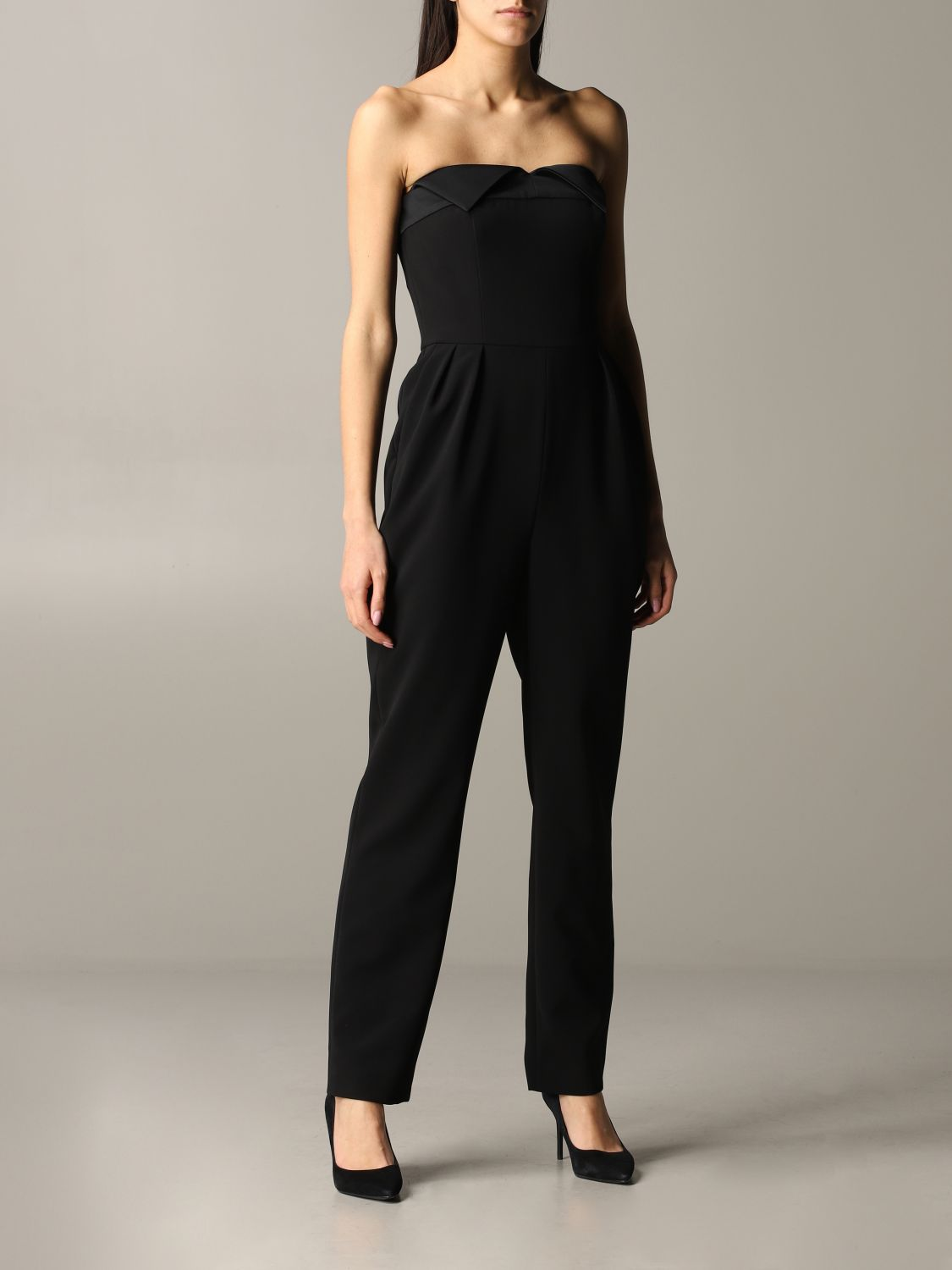 Moschino Couture cady suit black 1