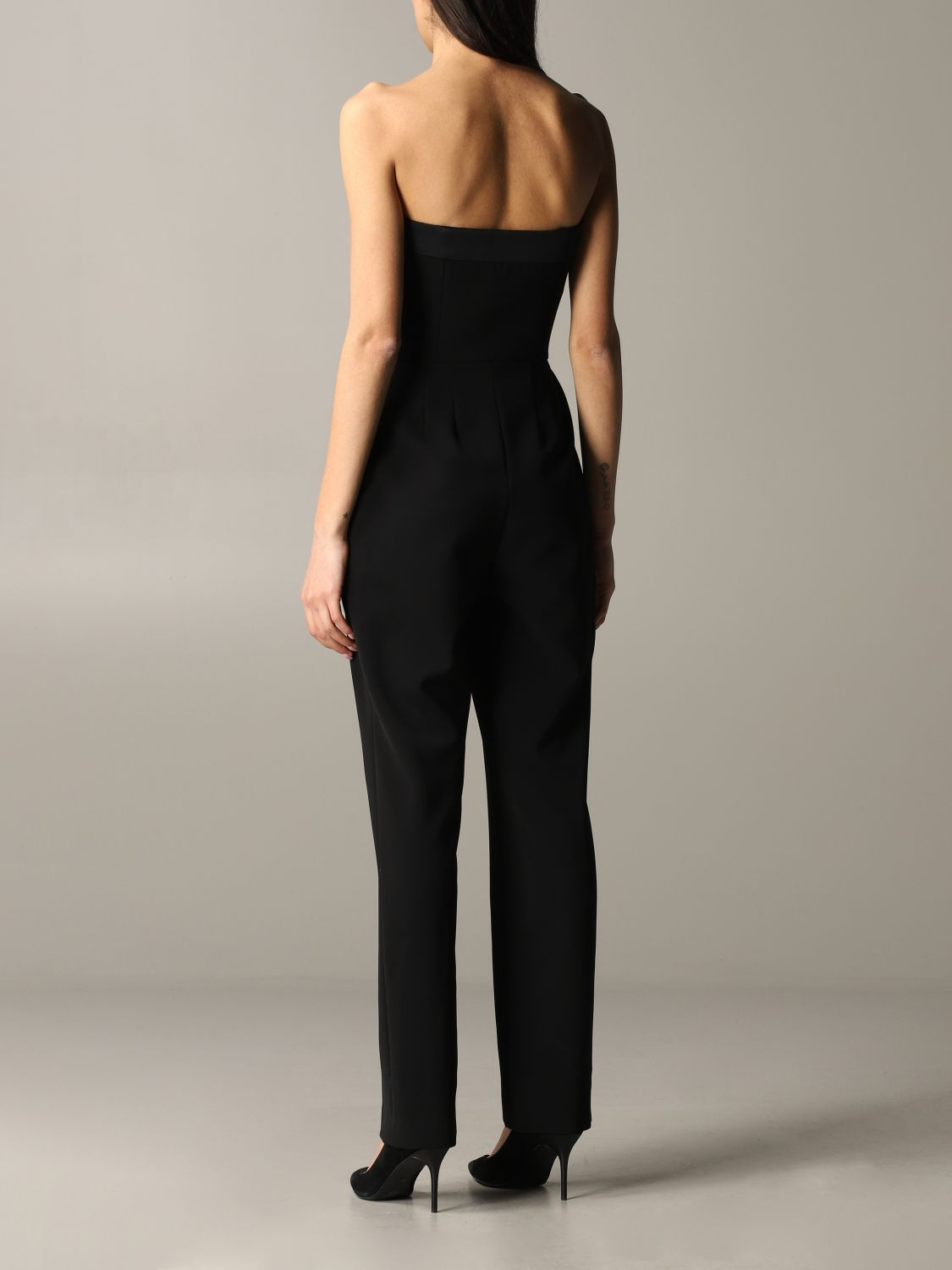 Moschino Couture cady suit black 2