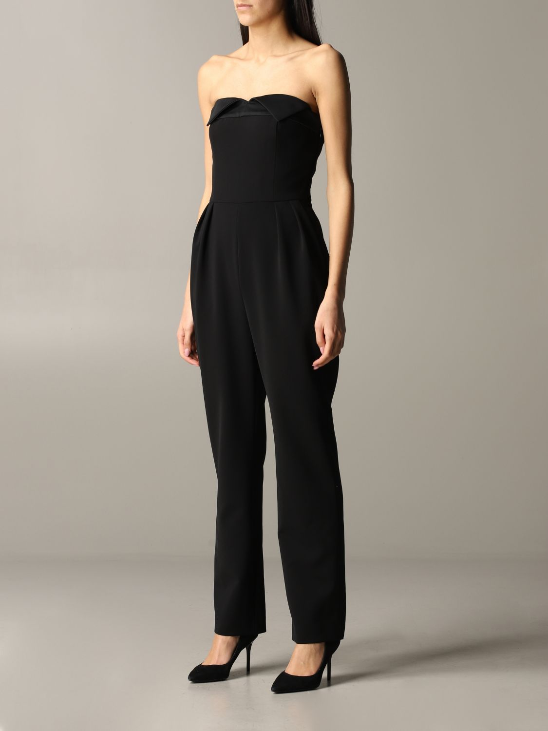 Moschino Couture cady suit black 3