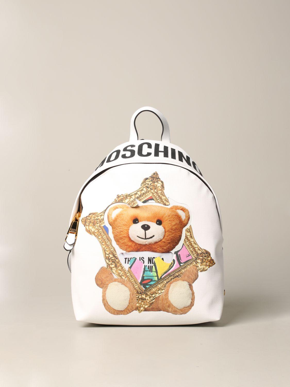Moschino Couture 泰迪熊背包 白色 1
