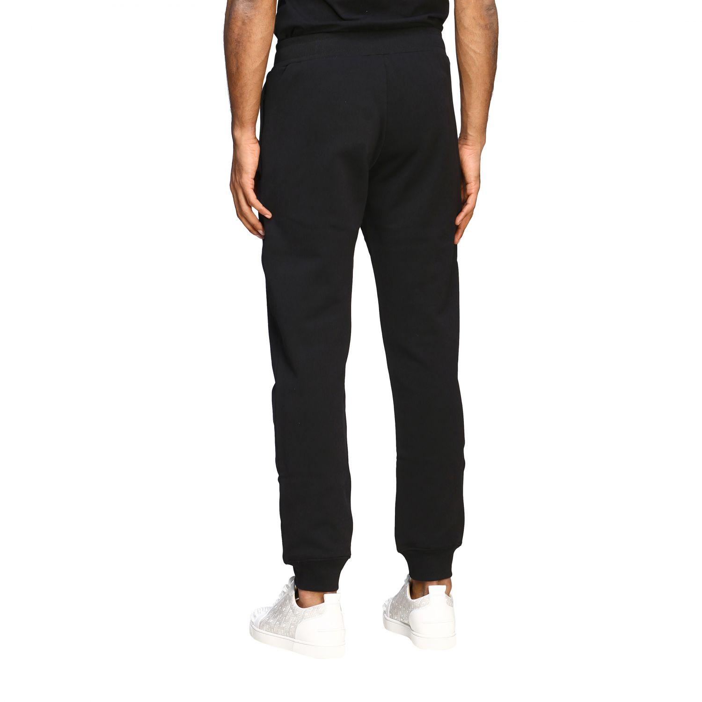 Pantalon de jogging Moschino Couture avec logo noir 3