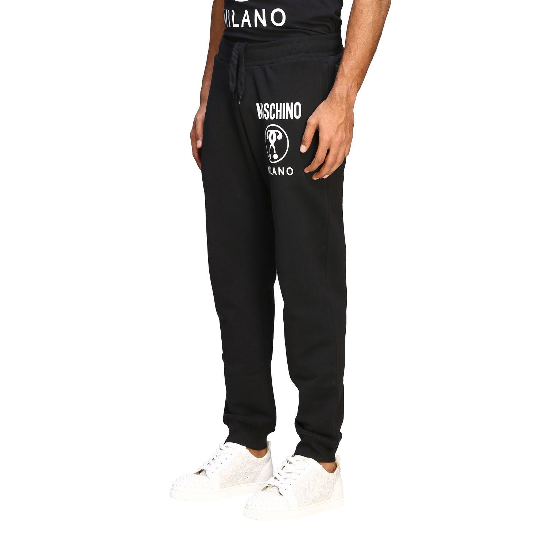 Pantalon de jogging Moschino Couture avec logo noir 4
