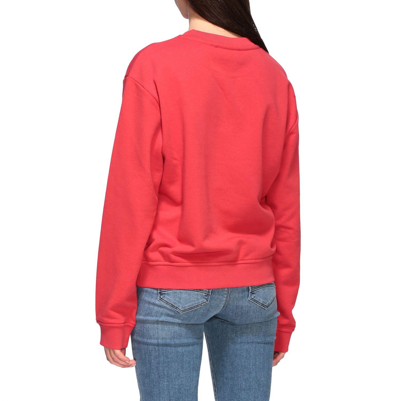 Sweatshirt women Love Moschino red 3