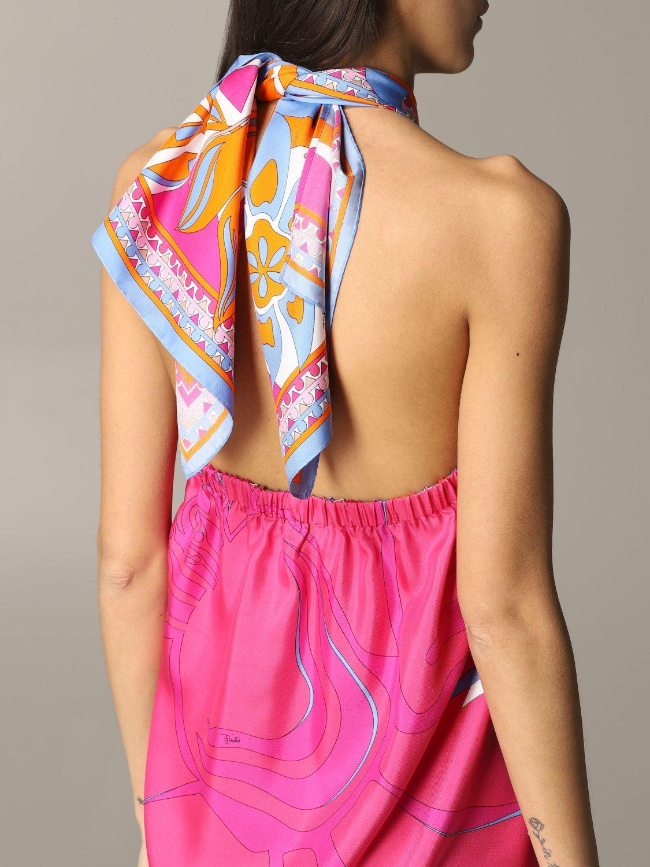 Платье Женское Emilio Pucci фуксия 4