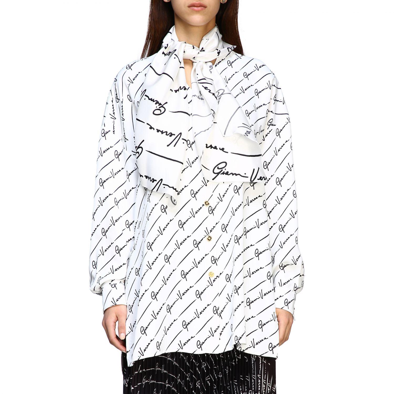 Shirt women Versace white 1