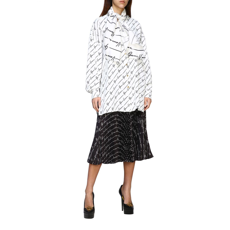 Shirt women Versace white 2