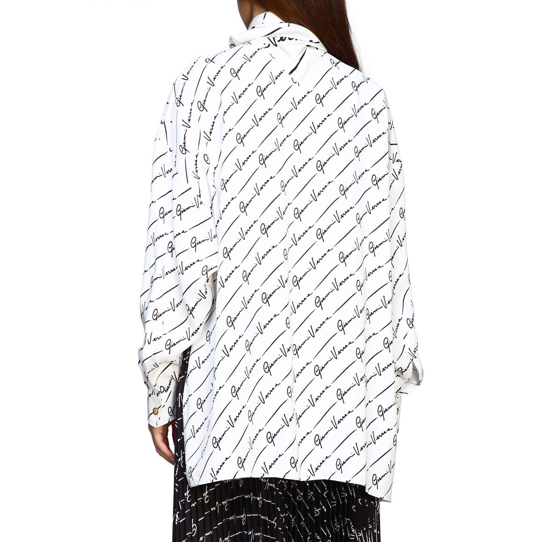 Shirt women Versace white 3