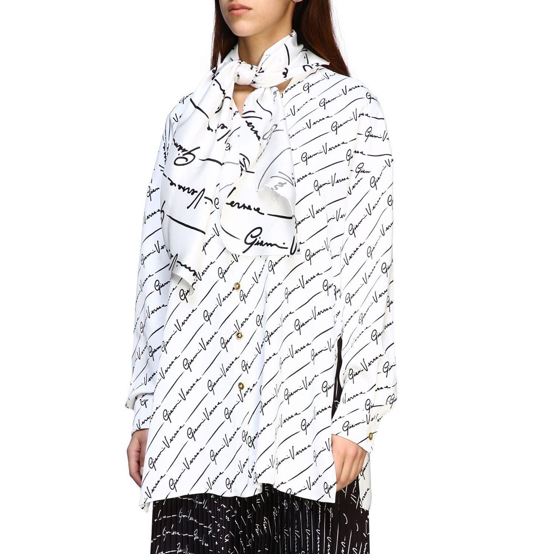 Shirt women Versace white 4