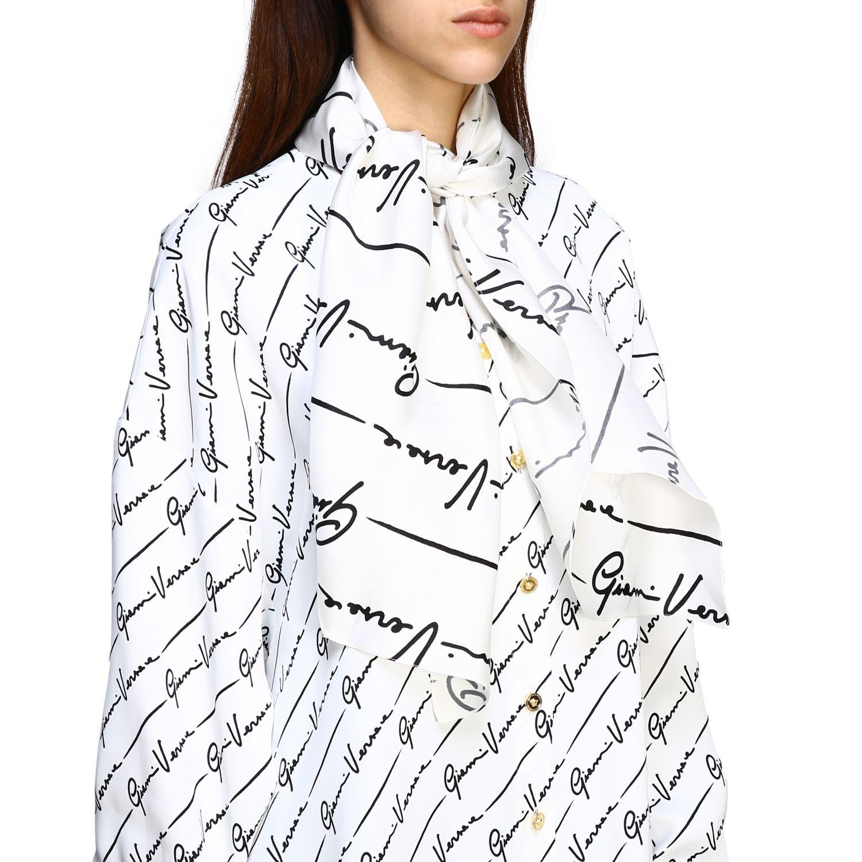 Shirt women Versace white 5