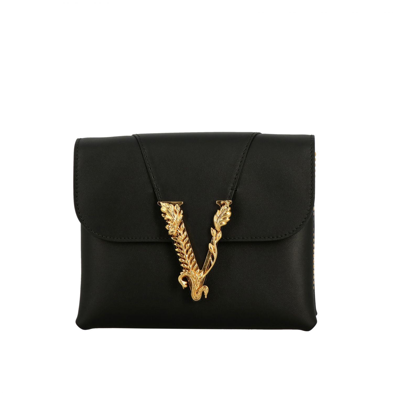 Shoulder bag women Versace black 1