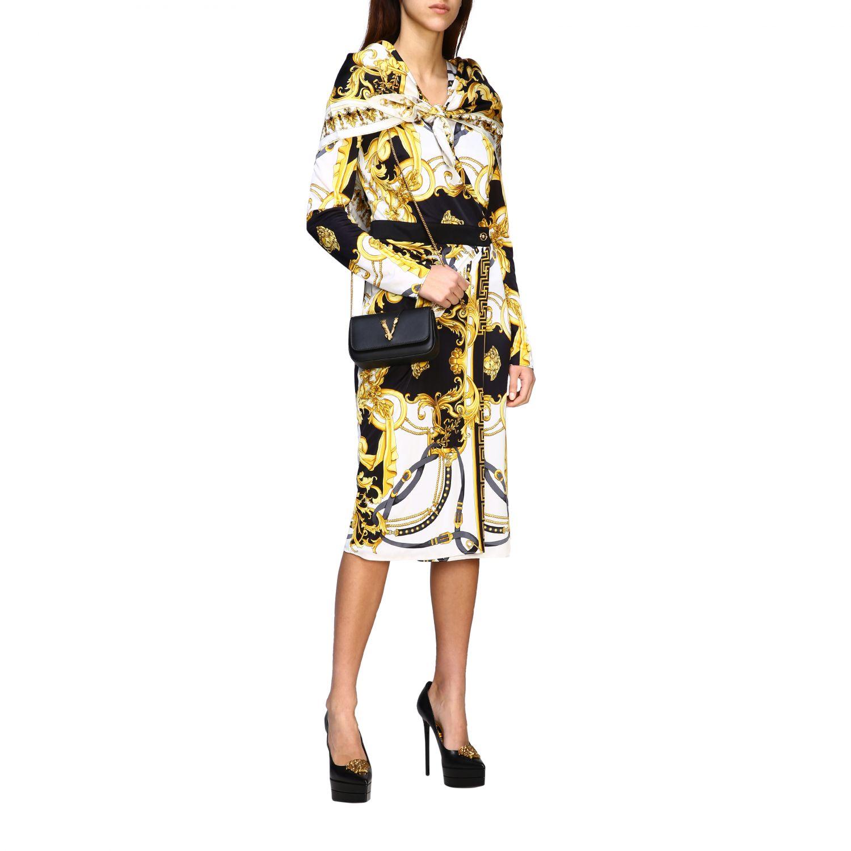 Bufanda mujer Versace blanco 2